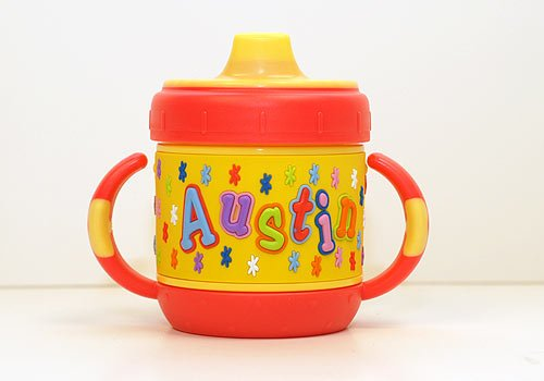 Personalized Sippy Cup: Austin front-282226