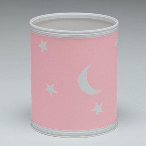 Redmon Star And Moon Round Wastebasket front-191138