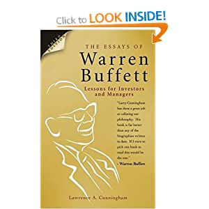 The Essays of Warren Buffett: Lessons for Corporate - Goodreads
