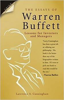 the essays of warren buffett audio