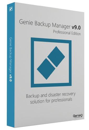 NEW!! Genie Backup Pro V9 Software for Windows XP, Vista and Windows 7 - 32 bit AND 64 bit OS