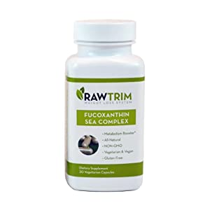 Raw Green Organics Rawtrim Fucoxathin Sea Complex Supplement, 0.25 Pound