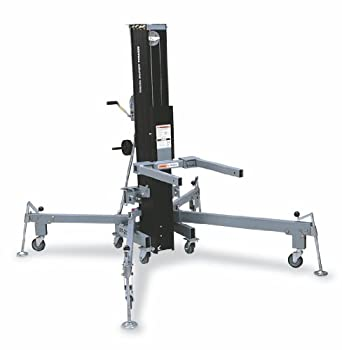 Genie Super Tower, ST- 20, Truss & Rigging Lift with Anodized Matte Black Finish, 800 lbs Load Capacity, Lift Height 21' 2.5""