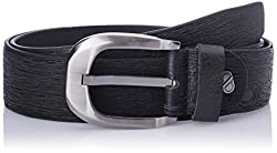 Dandy AW 14 Black Leather Men's Belt (MBLB-308-S)