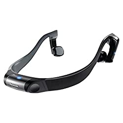 Panasonic RP-BTGS10-H Bluetooth Wireless Bone Conduction Headphones (Gray)