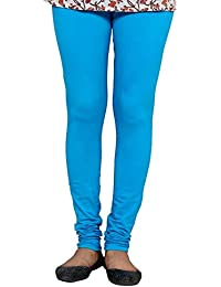 Anuradha Industries Fashions Women's Cotton Leggings_vc001_Turquoise_Freesize