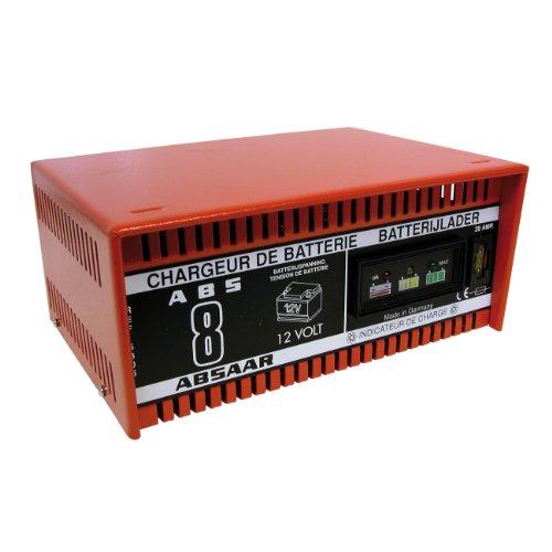 Carpoint 0605305 Absaar Batterie Ladegerät 8A
