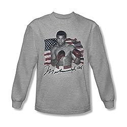 Muhammad Ali American Legend Long Sleeve T-Shirt