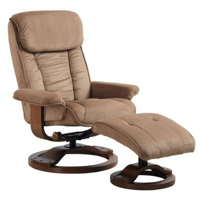 fortChair 7151 7151 Series Euro Recliner and Ottoman