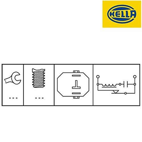 Hella 6DD 008622-781Interruptor de luz de freno