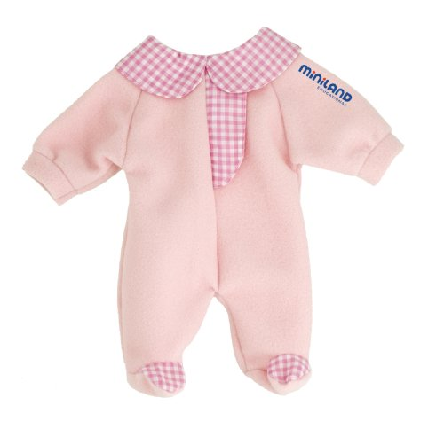 Miniland Pink Pajama for 12.63'' Baby  Dolls - 1
