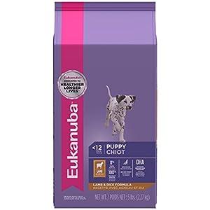 EUKANUBA Puppy Lamb and Rice Formula Puppy Food 5 Pounds