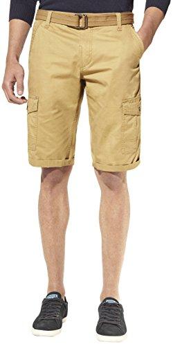 Celio - Bobattle, Shorts da uomo, beige (beige - beige  (tan 01)), 44