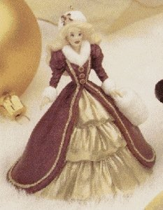 Hallmark Holday Barbie 4th in Series - 1