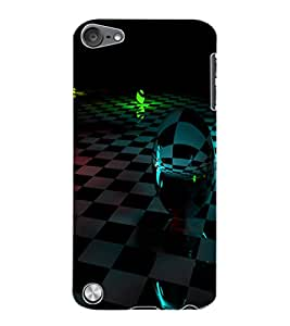 ColourCraft Printed Design Back Case Cover for APPLE IPOD TOUCH 5