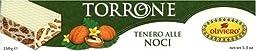 Oliviero - Traditional Italian Walnut Torrone, (2)- 5.3 oz. Bars