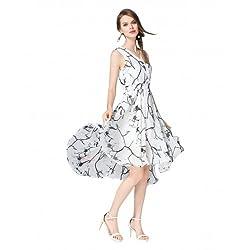 Shreeji Ethnic Women's Dress (White_Free Size)