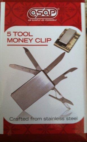 Asap 5 Tool Money Clip