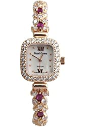 Langii RC Rg1514b18pk Woman Wristwatches Rectangle Mother of Pearl Watch Dial