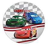 DISNEY PIXAR CARS CAKE TOPPER 21 CM EDIBLE WAFER / RICE IV. PAPER CUP CAKE DECORATION TOPPERS BIRTHDAY PARTY KIDS WEDDING