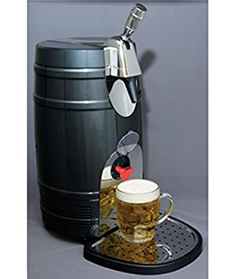 koolatron mini beer keg cooler with tap appliances. Black Bedroom Furniture Sets. Home Design Ideas