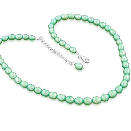 925 Sterling Silver Natural Gemstone South Sea Pearl Antique Style Beaded Beads Strand 19 Inches Necklace Jewelry