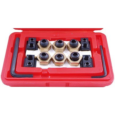4 PIECE 5/8 INCH T-SLOT CLAMPING NUT KIT