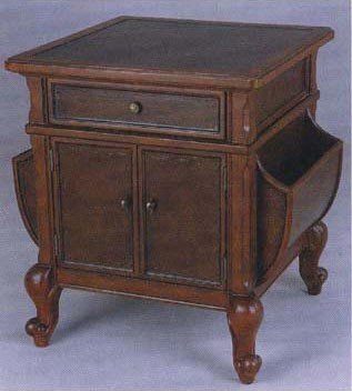 Image of Fairfax Home Furnishings Magazine Organizing End Table (B003KZ3VX0)