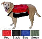 Quick-Release Dog Backpack - Medium Red