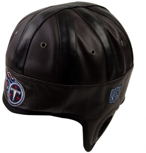 CHEAP Tennessee Titans Brown Faux Leather Helmet HatReebok ... 9bbb215ef5c6