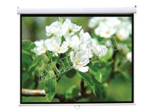 "PCW92MM 92"" Projector Screen 16:9 Widescreen Matte White Manual"