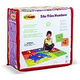 Edushape Edu Tiles - Numbers, 10 Piece Set