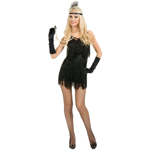 Chicago Flapper Costume - Small - Dress Size 5-7