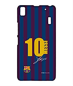 Block Print Company JERSEY MESSI Phone Cover for Lenovo K3 note