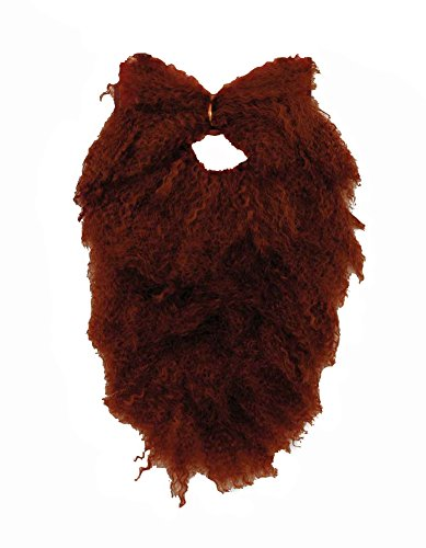 Brown Beard and Moustache Combo Costume Disguise