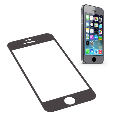 Ggs 0.26Mm Self-Adhesive Optical Glass Lcd Screen Protector For Apple Iphone 5S Space Gray