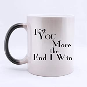 Funny high quality funny i love you more the for High end coffee mugs