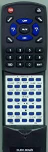 RCA Replacement Remote Control for CDRW120, 257969