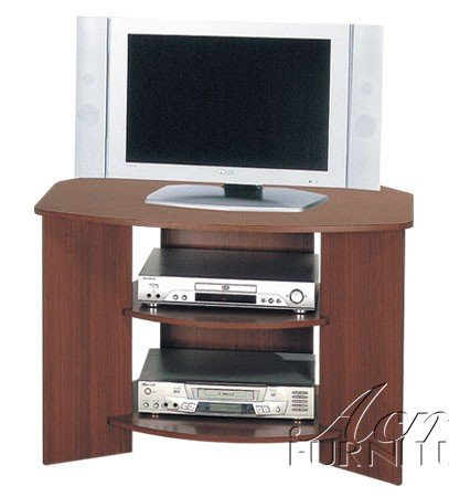 Cheap ACME Cherry Finish Tv Stand (VF_AM2022)