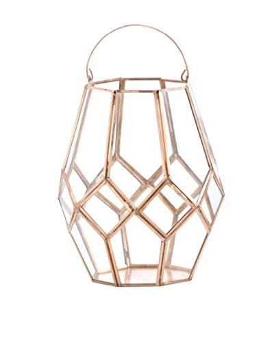 Shiraleah Large Nobile Lantern, Copper