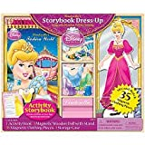 Disney Princess Cinderella's Storybook Dress-Up Magnetic Wooden Doll and Clothing