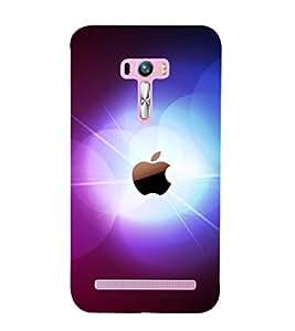 printtech Apple Glow Back Case Cover for Asus Zenfone Selfie::Asus Zenfone Selfie ZD551KL