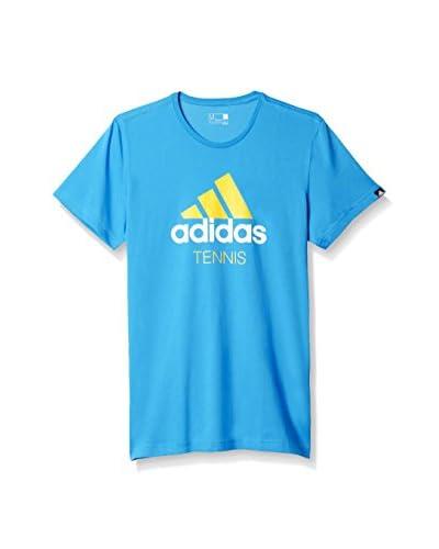 adidas T-Shirt TENNIS blau