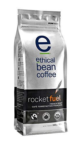 Ethical Bean Coffee Rocket Fuel, French Roast, Whole Bean, 12-Ounce Bag (Fuel Coffee compare prices)