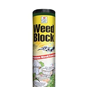 Easy Gardener 1051 Weed Block Landscape Fabric - 3-Foot x 100-Foot (2 Pack)