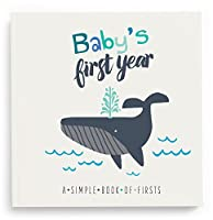 Lucy Darling Baby's First Year Memory Book: A Simple Book of Firsts - Little Captain from Lucy Darling, LLC