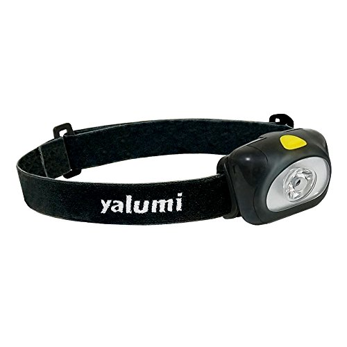 yalumi LED Headlamps Spark 105-Lumen 90-Meter Spotlight, Advanced Optics, 1.5X