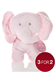 Girls with Love Flat Elephant Toy