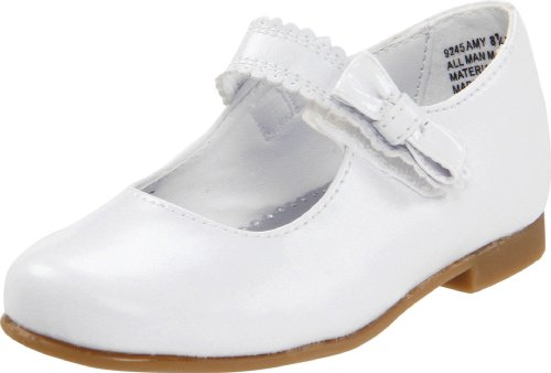 Rachel Shoes Amy,White Smooth,6.5 M Us Toddler front-41029