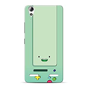 Inkif Printed Designer Case For Lenovo A6000 Plus Multi-Coloured